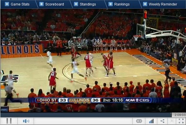 college games online college sports live review