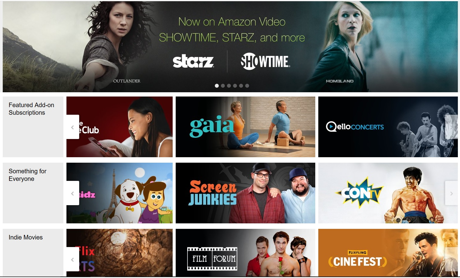 Amazon Adds 3 New Add-On Services to Prime Video - Cord ... - photo#26