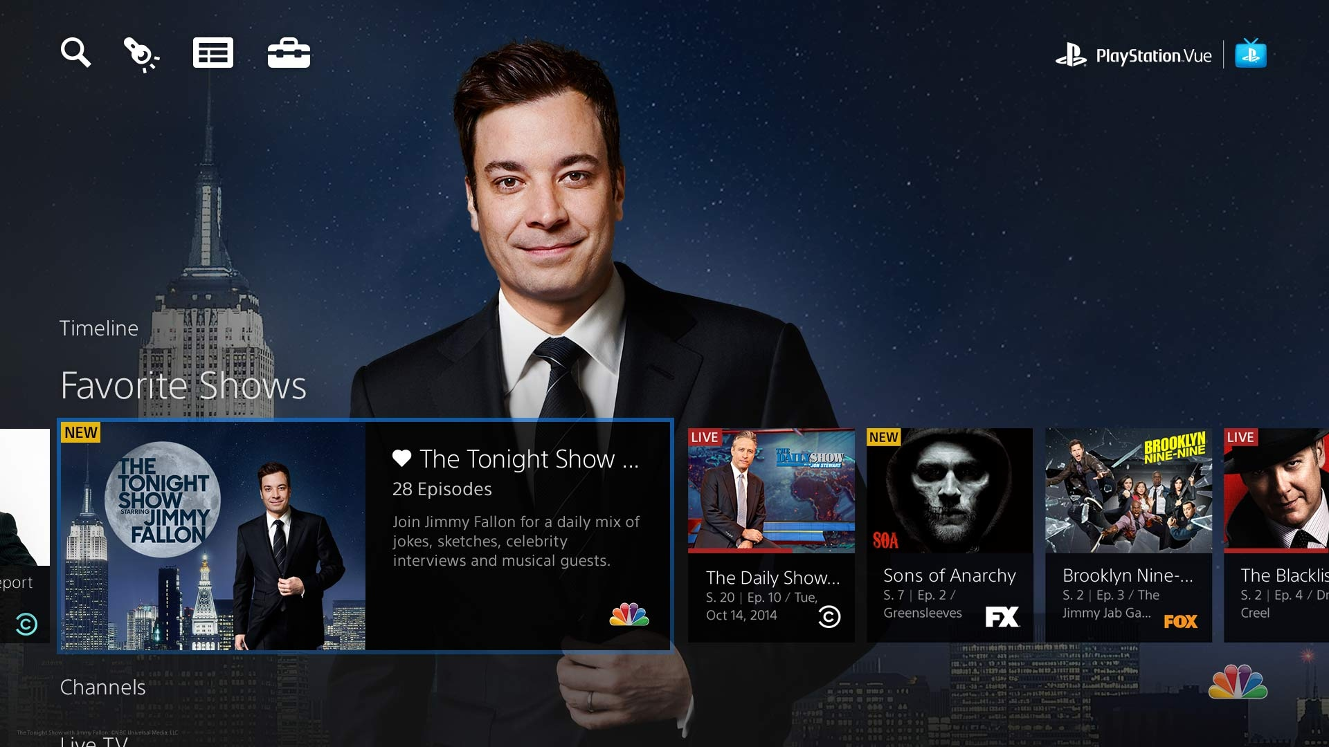 PlayStation Vue Adds C...