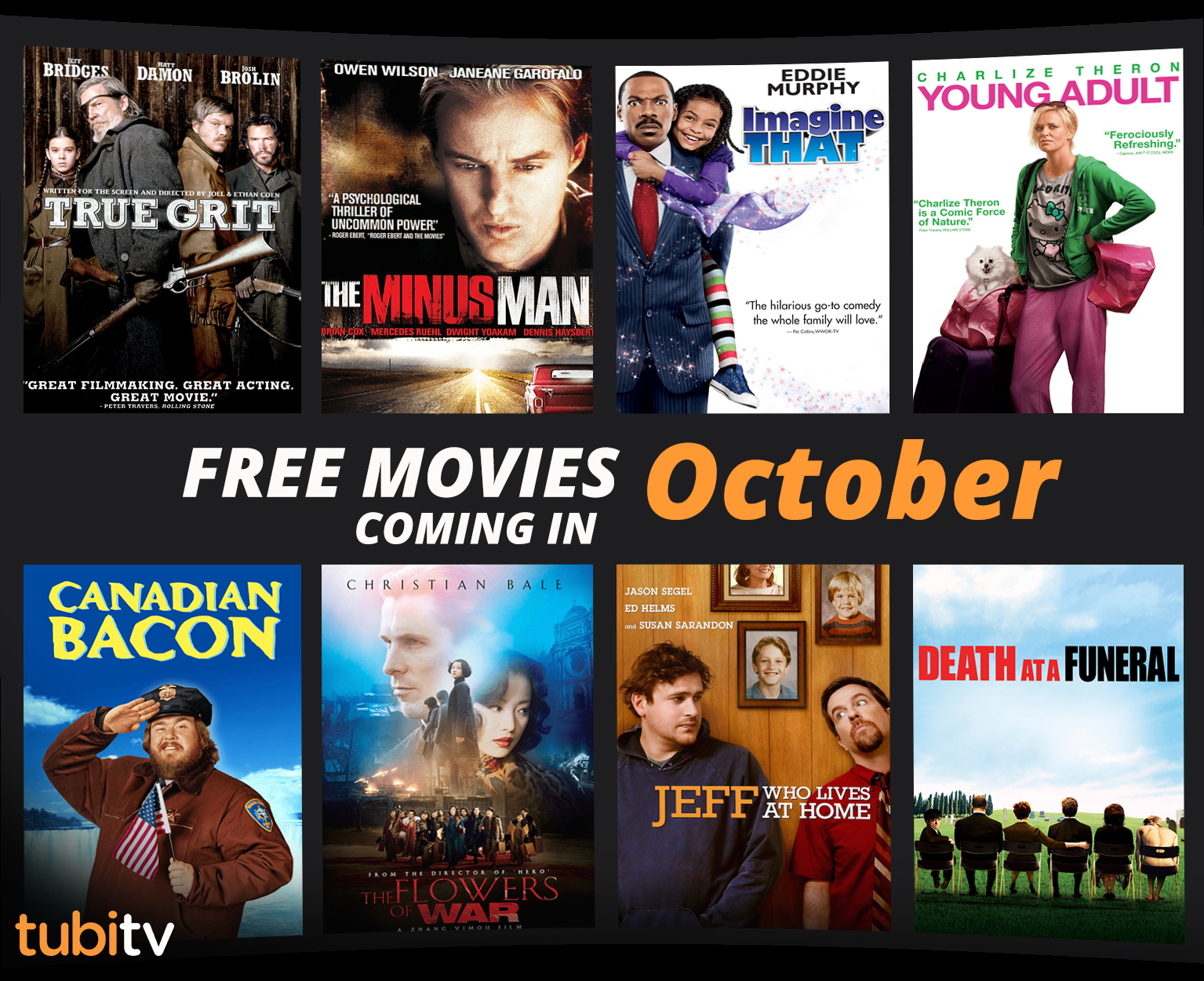 Here Is Everything Coming To Tubi Tv In October The Free