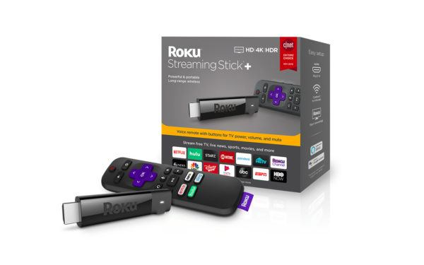 Roku Streaming Stick+ with Packaging