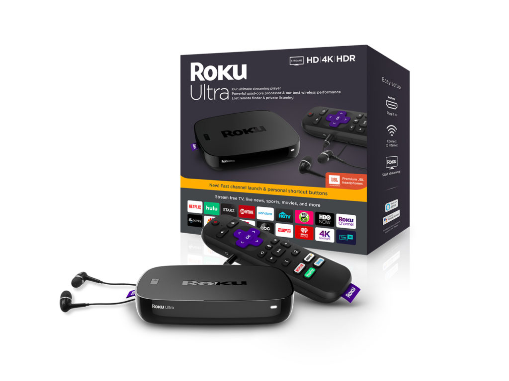 Roku Ultra with Packaging