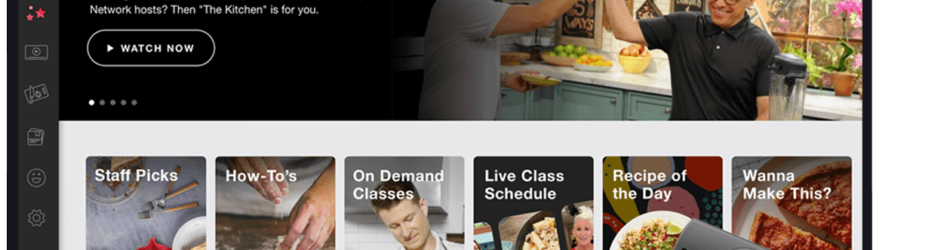 Food Network Kitchen Fire TV