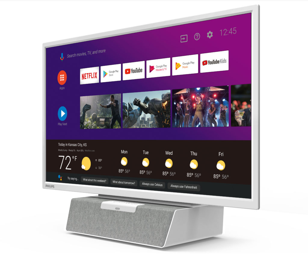 Philips Just Built an Android TV Smart TV Made For The Kitchen