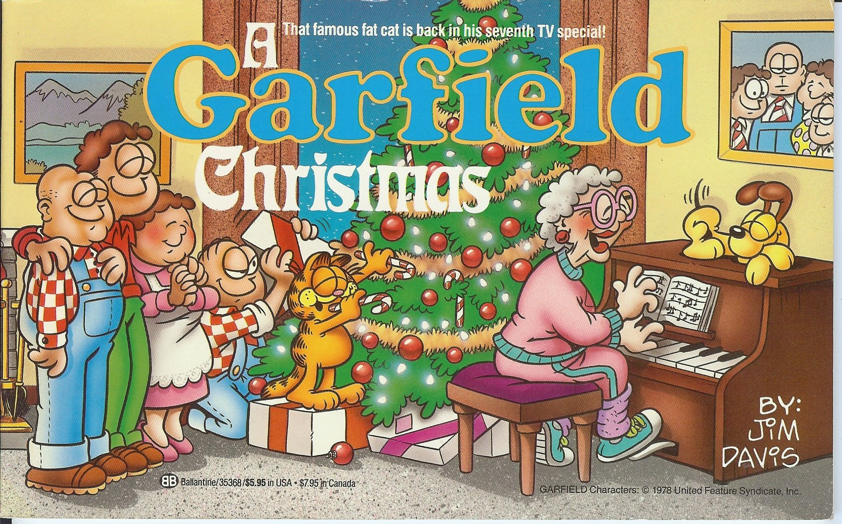 A Garfield Christmas Special Is Now Streaming For Free On The Official Garfield Youtube Channel Cord Cutters News