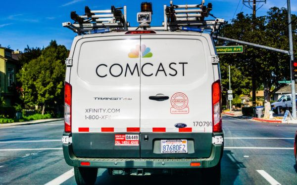 Comcast Cable Truck