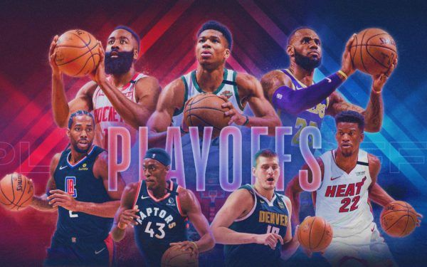 nba playoffs graphic