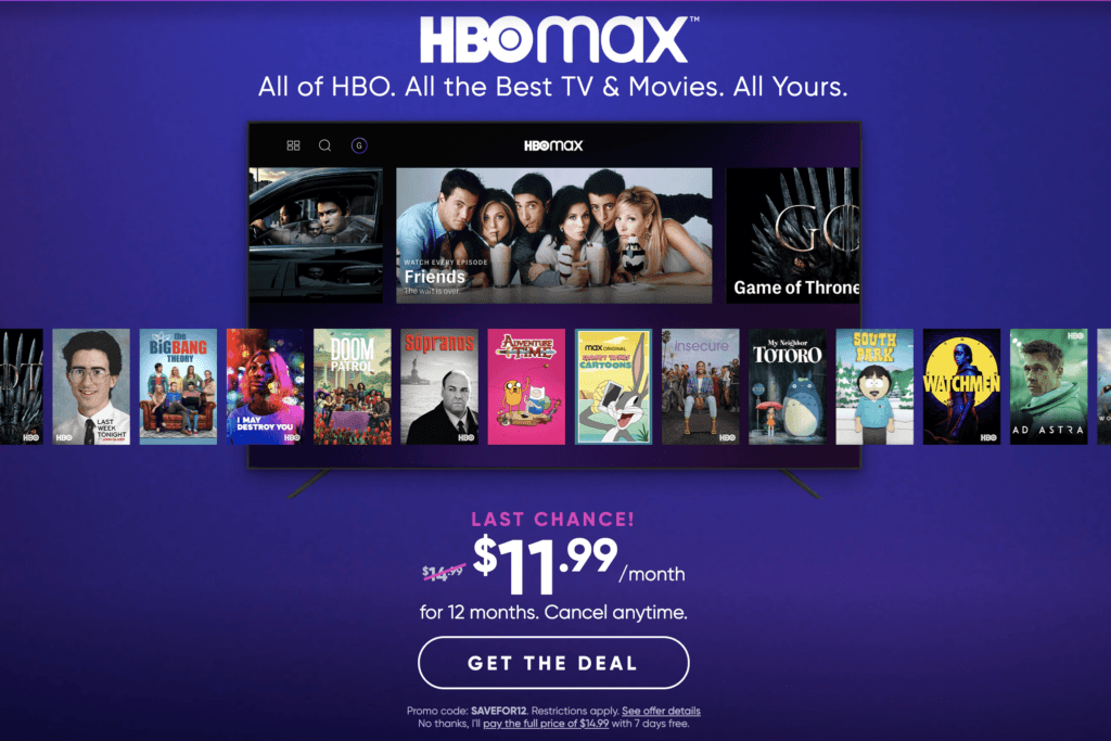 Hbo max subscribers 2020