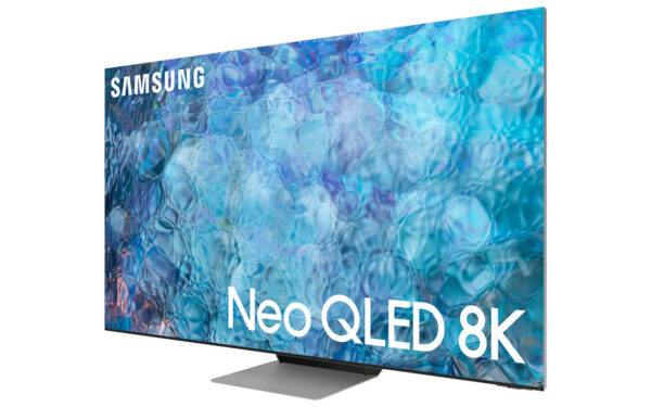 A press image of Samsung's 2021 Neo QLED TV