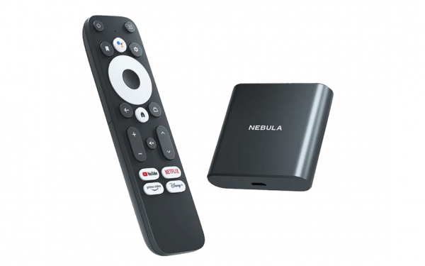 An image of Anker's upcoming streaming device