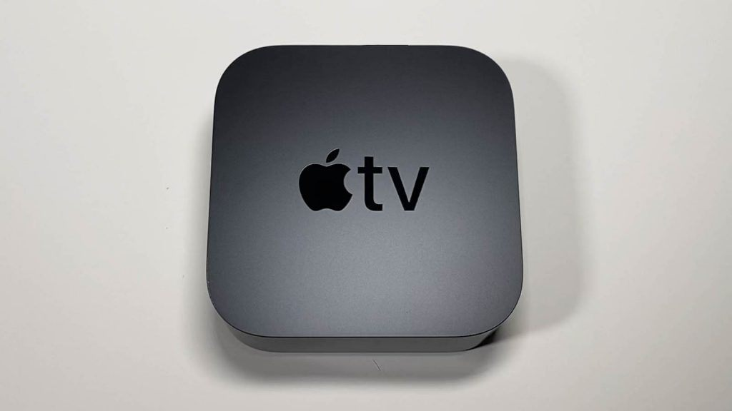 An overhead view of the Apple TV 4K (2021)