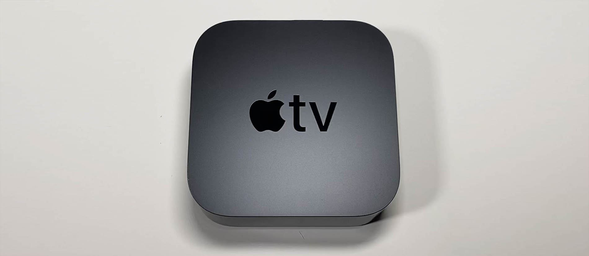Top-down image of the Apple TV 4K Second Generation