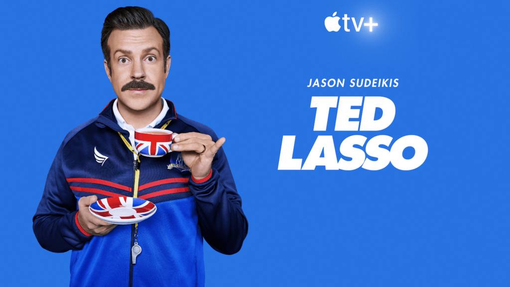 A press image for Ted Lasso on Apple TV+