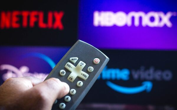 Streaming service netflix hbo max remote